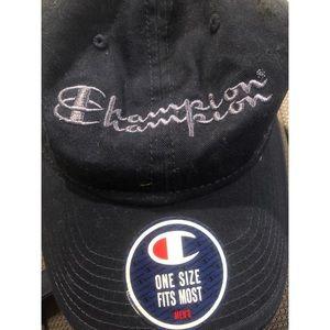 Champion Navy Adjustable Hat